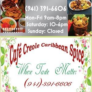 Café Creole Caribbean Spice