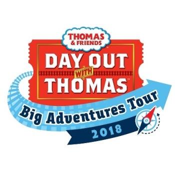THOMAS THE TANK ENGINE - North Shore Scenic Railroad 2018