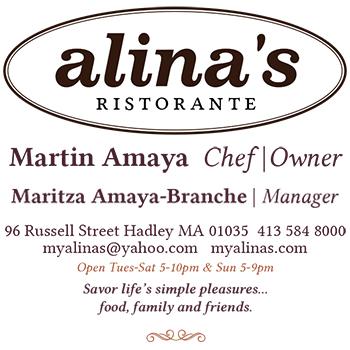 1/2 off at Alina's Ristorante