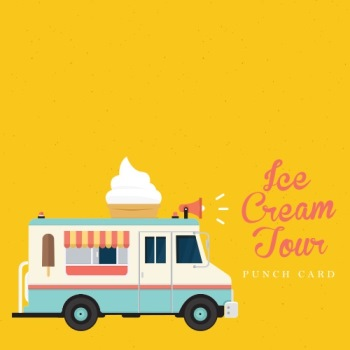Ice Cream Tour Card