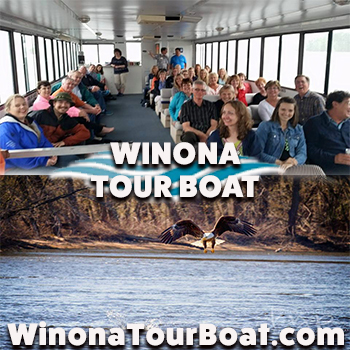 Winona Boat Tour-Two Adult Tickets