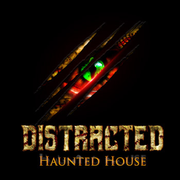 Distracted Haunted House - $30   Voucher  For  $15 Fast Pass