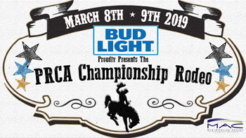 PRCA Rodeo @ the Mid America Center BOGO Tickets for March 8