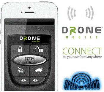 Speed of Sound - Drone Smart Phone Remote Car Starter