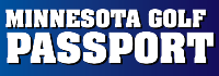 2019 Minnesota Golf Passport Punch Card