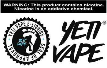 Yeti Vape - 4 Month Supply of E-liquid