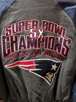 Sports Obsession - New England Patriots Jacket