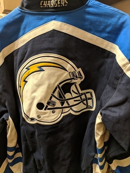 Sports Obsession - San Diego Chargers Size 3 xl Twill Jacket