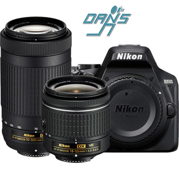 Dan's Camera City - Nikon D3500 Digital SLR Camera/Lenses and Nissin Flash Package