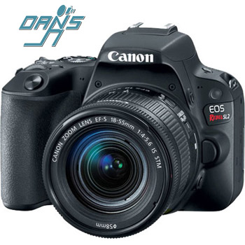 Dan's Camera City - Canon EOS Rebel SL2 Digital Camera/Lens and Nissin Flash Package