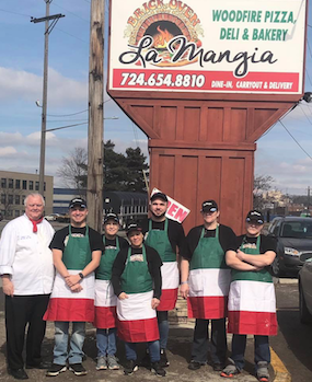 La Mangia Restaurant in New Castle!