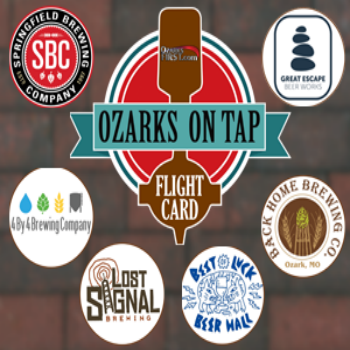 Ozarks On Tap Flight Card