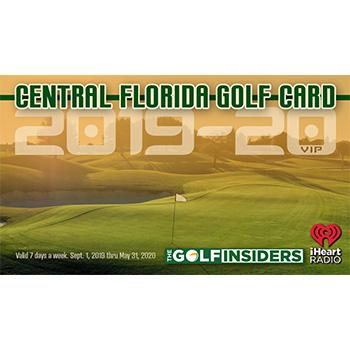 2019 Central Florida Golf Card
