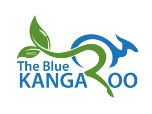 The Blue Kangaroo