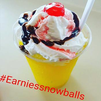 Earnie's Snowballs
