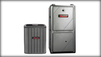 Furnace &  Air Conditioner Package - Amana AMVC9 2-Stage, ASX 16 Seer