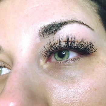 One Classic Full Set of Eye Lash Extensions- New Patients Only
