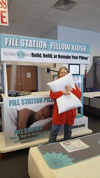 Build YOUR OWN PILLOW at Today's Bed
