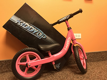Kiddy Up Balance Bikes - Pink