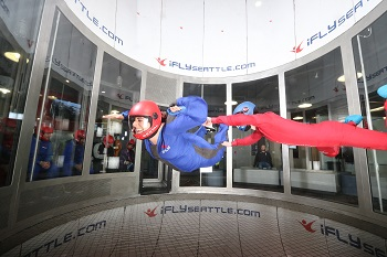 iFLY Seattle Indoor Skydiving - Family Package
