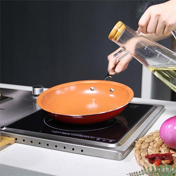 Red Copper Non-Stick Frying Pan - $17.99 With FREE Shipping