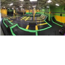 Get Two - 1 Hour Passes with Socks for only $20.00 at Get Air Trampoline Park