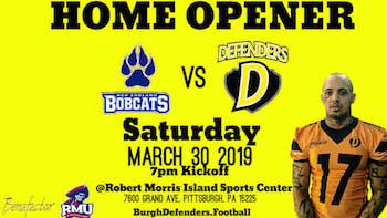 Coach's Corner - Burgh Defenders Home Opener