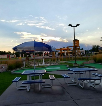 Eagle Falls Adventure Golf Get 1 Round of Mini Golf for 4 People for $16.50 - a $33 Value!