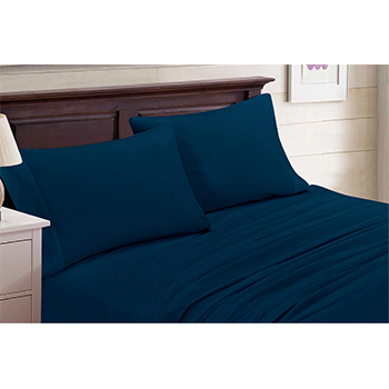 4-Piece Set: Bamboo Blend Bedsheets Size: California King - $29.99 with FREE Shipping!