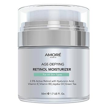 AMORÉ PARIS Retinol 2.5% High Potency Anti-Aging Moisturizer (1.7 Fl. Oz.) - $17.99 with FREE Shippi