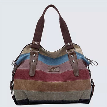Canvas Shoulder Bag -$19.99 with FREE Shipping!