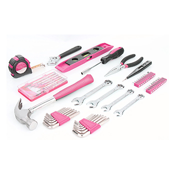 39-Piece: Pink Tool Set - 19.99 with FREE Shipping!