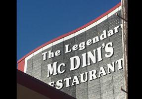 McDini's Restaurant voucher