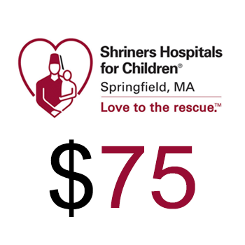 Shriners Hospitals for Children Springfield Donation $75.00