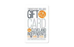 $25 Cleveland Independents Gift Card