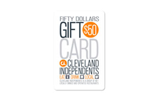 $50 Cleveland Independents Gift Card