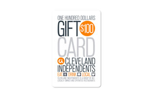 $100 Cleveland Independents Gift Card