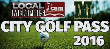 2016 Local Memphis City Golf Pass
