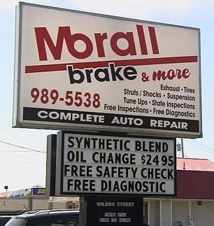 Morall Brake Center