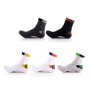 5-Pairs: All Day Relief Crew Length Compression Socks - $22.99 with FREE Shipping!