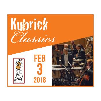 Kubrick Classics - Feb. 3rd