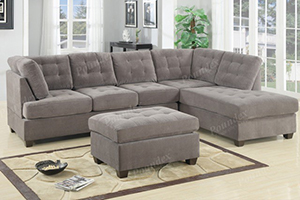 Scotty Grey 2pc Reversible Sectional
