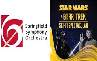 Springfield Symphony Orchestra Star Wars & Star Trek Sci-Fi Spectacular  Saturday, March 3, 2018, 7:30 p m