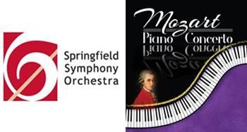 Springfield Symphony Orchestra Mozart Piano Concerto Saturday, January 20, 2018, 7:30 p.m.