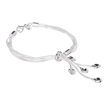 Martha Bracelet - 925 Sterling Silver Plated $18.00 with FREE Shipping!