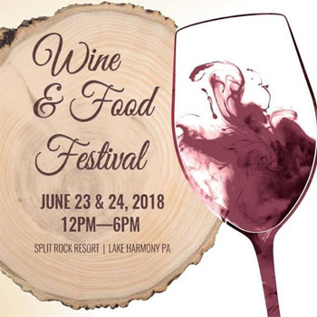 Pair of passes to Split Rock Resort's Annual Great Tastes of Pennsylvania Wine & Food Festival