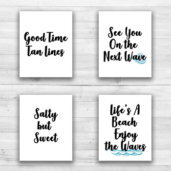 Beach Wall Prints - 8  x 10  Frame Ready Prints
