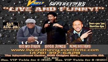 V-101.7 Presents Big Wynn's Superstars of Comedy: Live and Funny
