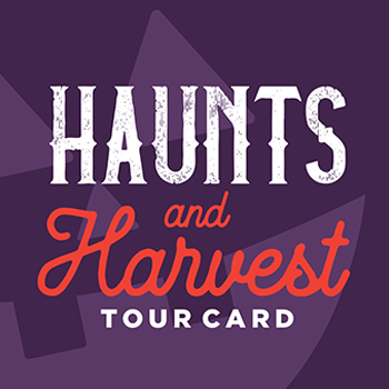Haunts and Harvest Tour Card 2018