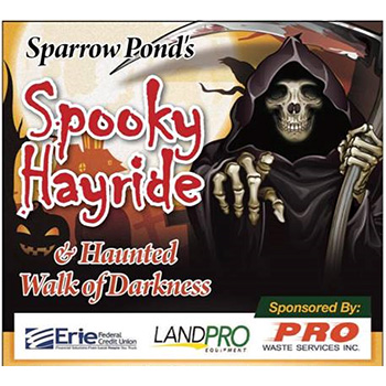 Sparrow Pond's Spooky Hayride and Haunted Walk of Darkness